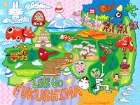 Fukushimaの版画