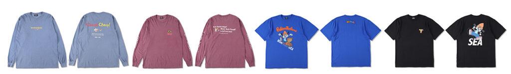 WIND AND SEA tshirts